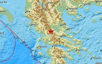 Σεισμός τώρα στην Καρδίτσα, αισθητός και στα Τρίκαλα
