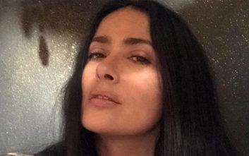 Η φωτογραφία της Σάλμα Χάγιεκ χωρίς μακιγιάζ και φίλτρα
