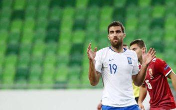 Έξαλλος ο Παπασταθόπουλος με το δεύτερο γκολ που δέχθηκε η Εθνική