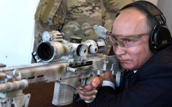 Ταλέντο στην σκοποβολή ο… Πούτιν