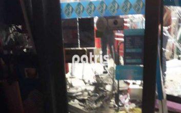 Ισχυρή έκρηξη σε ATM τα ξημερώματα στον Πύργο
