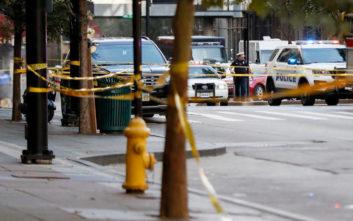 Αιματηρή η συμπλοκή ενόπλου και αστυνομίας σε τράπεζα στο Σινσινάτι