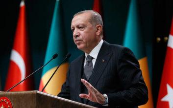 Ερντογάν: Αυτοί που μας κατηγορούσαν έγιναν τυφλοί, κουφοί και μουγγοί
