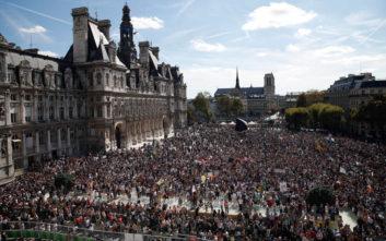 Χιλιάδες Γάλλοι ζήτησαν «δράση για το κλίμα»