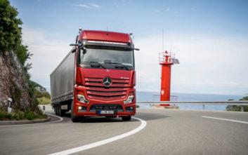 Η «ναυαρχίδα» των φορτηγών της Mercedes