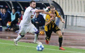 Χουλτ: Όνειρο που θα παίξω στο Champions League με την ΑΕΚ