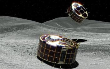 Έτοιμα να «πατήσουν» στον αστεροειδή Ριούγκου τα ρομποτικά ρόβερ που χοροπηδούν