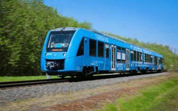 Στις ράγες τα πρώτα τρένα που κινούνται με υδρογόνο