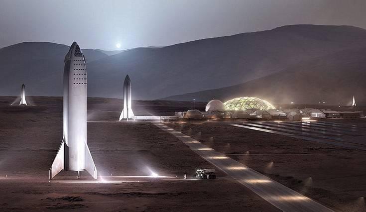 Η «Βάση Άλφα» που οραματίζεται στον Άρη ο Έλον Μασκ