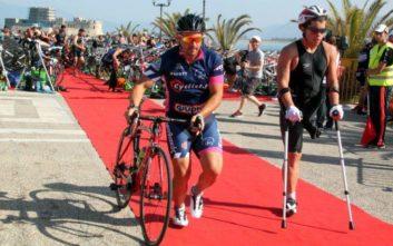 Η έκκληση παραολυμπιονίκη για το ποδήλατο που του έκλεψαν