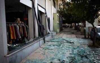 Εικόνες από την έκρηξη ΑΤΜ στον Βύρωνα