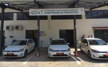 Τρία νέα ηλεκτροκίνητα οχήματα αποκτά ο δήμος Κοζάνης