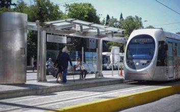 Διακοπή της κυκλοφορίας του τραμ σε τμήμα της παραλιακής γραμμής