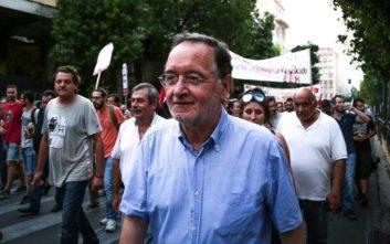 ΜέΡΑ25: Πολιτική η δίωξη κατά του Παναγιώτη Λαφαζάνη