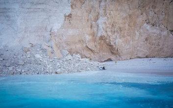 Ανησυχία για κατολισθήσεις και σε άλλες παραλίες του Ιονίου