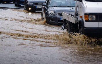 Οι κλειστοί δρόμοι στην Αττική λόγω κακοκαιρίας