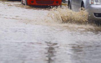 Πλημμύρες σε Μοσχάτο και Καλλιθέα