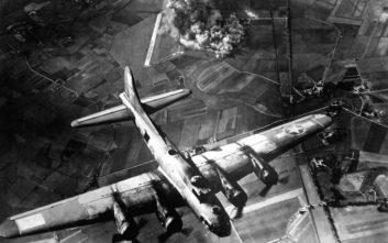 Οι βομβαρδισμοί του Β' Παγκοσμίου Πολέμου άφησαν το αποτύπωμά τους στην ατμόσφαιρα
