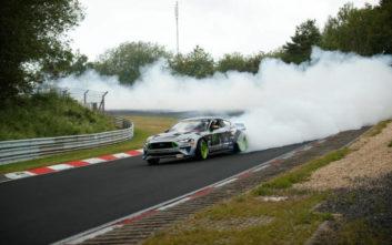 Πώς είναι να γυρίζεις την «Πράσινη Κόλαση» ντριφτάροντας με μια Mustang 900 hp