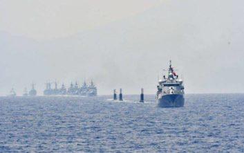 Οι Τούρκοι βγαίνουν στο Αιγαίο με 19 πολεμικά πλοία για... να γιορτάσουν