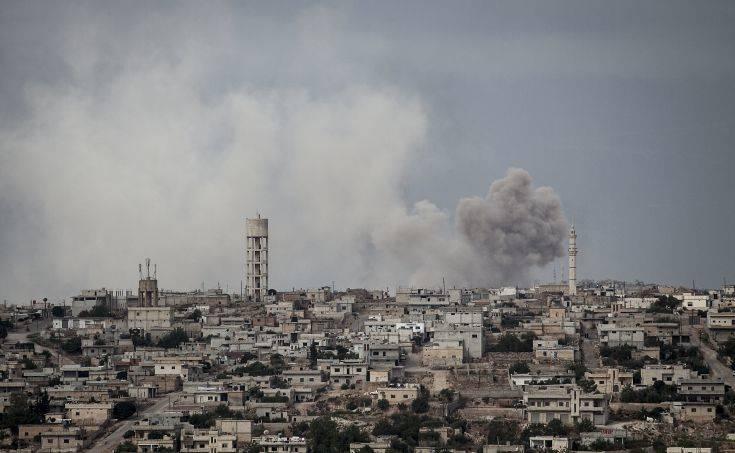 Στόχος σφοδρών βομβαρδισμών και πάλι η Ιντλίμπ