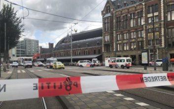 «Τρομοκρατική ενέργεια η επίθεση στον σιδηροδρομικό σταθμό του Άμστερνταμ»