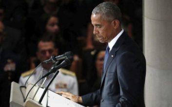 Ομπάμα για Αντετοκούνμπο: Ο Γιάννης είναι σκέτη απόλαυση