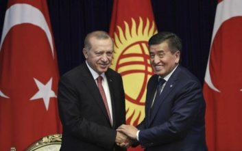 Προειδοποίηση Ερντογάν για επικείμενο πραξικόπημα στο Κιργιστάν