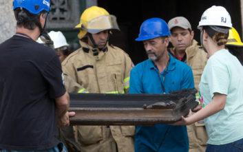 Πόρους για την ανοικοδόμηση του Εθνικού Μουσείου που κάηκε αναζητεί η Βραζιλία