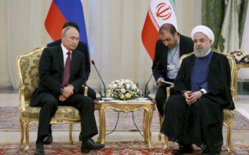Χωρίς συμφωνία για την Ιντλίμπ ολοκληρώθηκε η σύνοδος στην Τεχεράνη