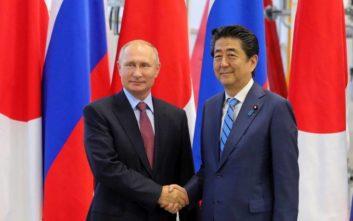Ψάχνουν λύσεις για να υπογράψουν ειρηνευτική συμφωνία Ρωσία και Ιαπωνία