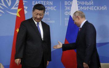 Συμφώνησαν για τακτικά κοινά στρατιωτικά γυμνάσια Ρωσία και Κίνα