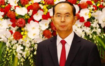 Έφυγε από τη ζωή στα 61 του ο πρόεδρος του Βιετνάμ