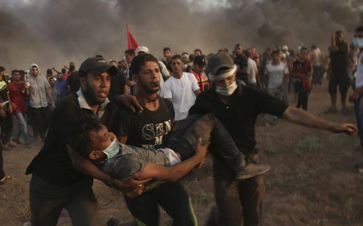 Τρεις Παλαιστίνιοι νεκροί από ισραηλινά πυρά στη διάρκεια διαδηλώσεων