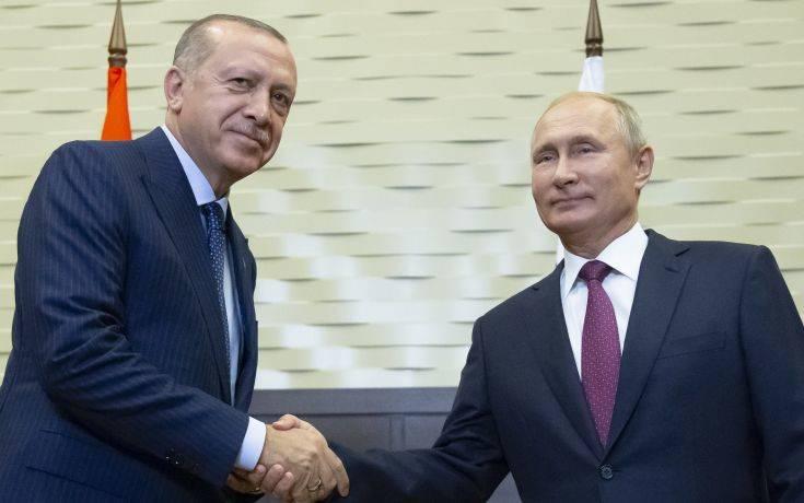 Τρίτη επίσκεψη Ερντογάν στη Ρωσία μέσα σε λίγους μήνες