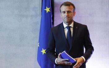 Μακρόν: Χρειάζεται ένας ευρύς συνασπισμός στο Ευρωπαϊκό Κοινοβούλιο