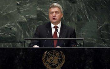 Σε μποϊκοτάζ κατά του δημοψηφίσματος καλεί ο πρόεδρος της ΠΓΔΜ