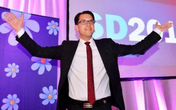 Ο 39χρονος που έκανε τη σουηδική ακροδεξιά τρίτο κόμμα