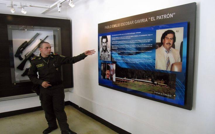 Λουκέτο σε μουσείο αφιερωμένο στον Πάμπλο Εσκομπάρ