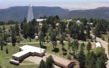 Ανοίγει το αστεροσκοπείο που είχε πυροδοτήσει συνωμοσίες για εξωγήινους με το λουκέτο του
