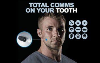 Οι Αμερικάνοι εξελίσσουν συσκευή μικροφώνου που θα προσαρμόζεται… στα δόντια