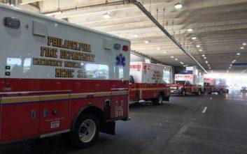Αεροσκάφη σε καραντίνα στη Φιλαδέλφεια, 12 επιβάτες παρουσίασαν συμπτώματα γρίπης