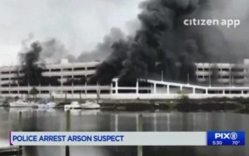 Ο άκυρος λόγος που άνδρας έκαψε ένα από τα μεγαλύτερα γκαράζ της Νέας Υόρκης ceb67c02111