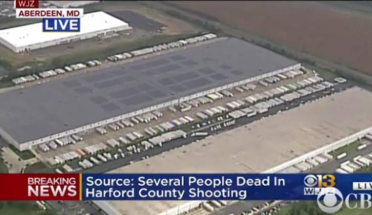Τουλάχιστον 3 νεκροί από τους πυροβολισμούς στο Μέριλαντ