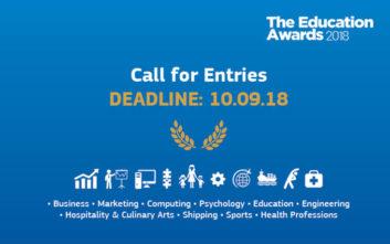 Education awards 2018, μαζί δημιουργούμε νέα πρότυπα στην εκπαίδευση
