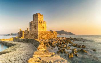 Το εμβληματικό κάστρο της Μεθώνης