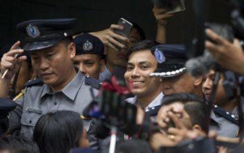 «Να αφεθούν ελεύθεροι οι δύο δημοσιογράφοι του Reuters»