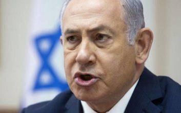 Νετανιάχου: Το Ισραήλ θα συνεχίσει τη δράση του κατά του Ιράν στη Συρία