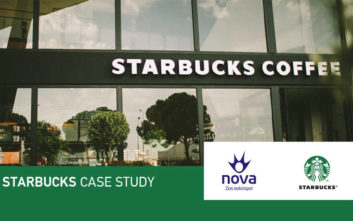 Συνεργασία Νova και Starbucks