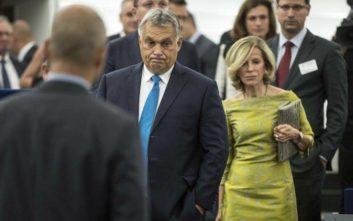 Το Ευρωπαϊκό Κοινοβούλιο ενέκρινε την επιβολή κυρώσεων κατά της Ουγγαρίας